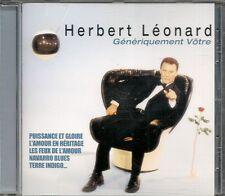 CD COMPIL 11 TITRES--HERBERT LEONARD--GENERIQUEMENT VOTRE--2001