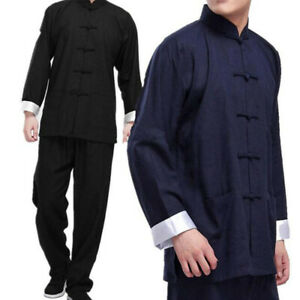 Bruce Lee Kung Fu Wingchun Uniform Martial Arts Taichi Uniform Men Tang Suit Hot
