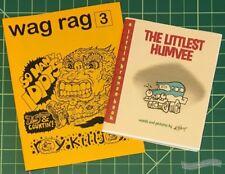 WAG RAG #3 and THE LITTLEST HUMVEE minicomix HAL MUNDANE Brian Horst mini-comic