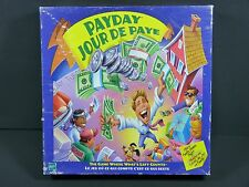 Payday Board Game English & French Jour de Paye Jeu Français Hasbro 2000