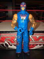 REY MYSTERIO WWE Mattel action figure BASIC Series toy PLAY Wrestling Blue