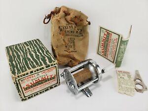 Vintage PFLUEGER SUMMIT NO. 1993A REEL WITH BOX & PAPERWORK