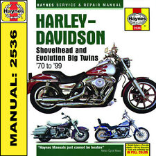 Harley Davidson FXD 1340 Softail Evolution EVO Shovelhead Haynes Manual 2536 NEW