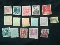 lot N°120 15 timbres ESPAGNE
