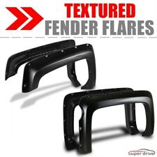 Textured Black Fender Flares For 2014-2018 CHEVY SILVERADO 1500 5.5FT SHORT BED