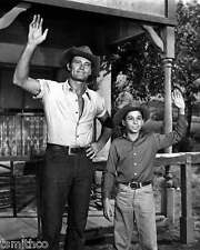 Chuck Connors The Rifleman Johnny Crawford 8x10 Photo 004