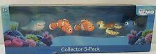 Disney Pixar Finding Nemo Collector 5-Pack Nemo Bruce Squirt Dory Marlin Figures