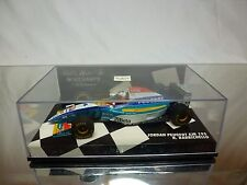 MINICHAMPS JORDAN PEUGEOT EJR 195 - RUBENS BARRICHELLO - F1 1:43 - GOOD IN BOX