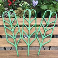 3Pcs/Set 35.5cm Garden Trellis For Mini Climbing Plant Pot Support Leaf Trellis