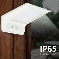 20LED Luz de Energía Solar PIR Sensor Movimiento Lámpara Pared Jardín Seguridad