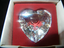Swarovski Crystal Heart SCS Clear-with original packaging - (MY pos-nr.2)