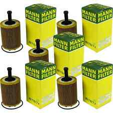 5 x MANN-FILTER Ölfilter für VW Passat Variant 3C5 3.6 R36 4motion 2.0 TDI