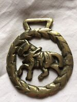 horse brasses selection of pressed Victorian designs