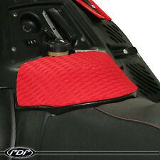POLARIS IQR / 600RR Snowmobile 2005-2014 Race Sno-X PDP Tank Grip Pad 3M : RED