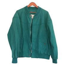 Vintage 80's Yukon Trail Mens Large Emerald Green Full Zip Jacket