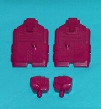 original G1 Transformers ABOMINUS PARTS LOT #7 r+l fist & r+l foot feet