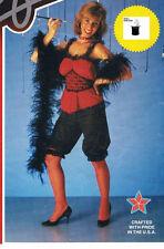 SALOON GIRL HALLOWEEN COSTUME NEW SEXY HOOKER FLAPPER STRIPPER