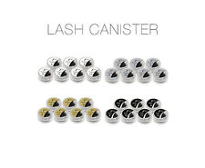 Xtreme Lashes® Orange Synthetic Lash Canisters (X40 8mm Thin)