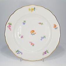 """Meissen """"Dispersión blümchen Streublume"""" Plato de comida 25 cm"""