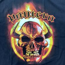 Vintage PANTERA Black Metal Rock Band Tour Promo Album Shirt Concert Music Med