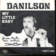 DANILSON 45 TOURS BELGIQUE MY LITTLE BABY *ROCK'N'ROLL*