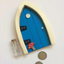 The Irish Fairy Door Company - Blue Arched Door (Nip)