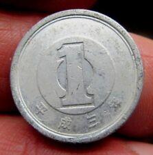 Japoneses 1 yenes año desconocido para mí Lote D