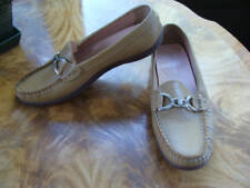 Andrea Women's Loafers Tan Flat Shoes Size 7