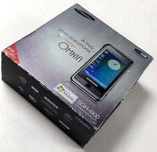 Samsung SGH i900 - 8GB - Black  QUADBAND GSM UNLOCKED FULL TOUCH WINDOWS MOBILE.
