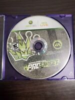 Need for Speed: ProStreet (Microsoft Xbox 360, 2007) - TESTED - DISC ONLY