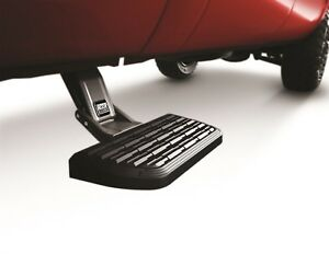 AMP Research BedStep2 Retractable Bed Side Step For 1999-2013 Silverado Sierra
