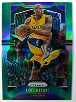 2019-20 Panini Prizm Refractor Green Kobe Bryant #8, Los Angeles Lakers