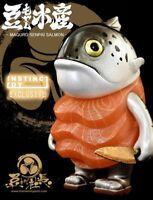 Mame Moyashi Maguro Senpai Salmon Instinctoy Sofubi 4.6'' Vinyl Figure