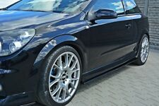 Paupière approche Opel Astra H OPC Side skirts Barres approches Seuil