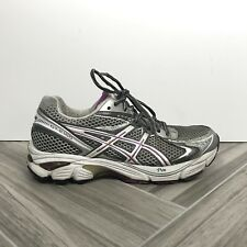 Asics GT-2160 Gel Gray Purple Running Shoes Sz 7 Lace Up Sneakers