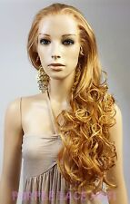 "O Zone Front Lace Wig #006 - 3"" Depth Swiss Lace -Many colors available!!"