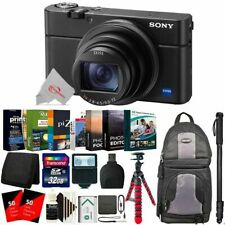 Sony Cyber-shot DSC-RX100 VI 20.1MP Digital Camera with Essential Accessory Kit