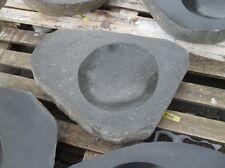 Becken aus poliertem Granit - Granittrog Vogeltränke Bachlauf Waschbecken - B104