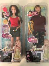 NEW Disney HaNNaH Montana Dolls MILEY & OLIVER'S Beach Boogie Barbie Doll Lot