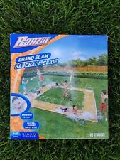 Banzai Baseball Home Run Splash Diamond Water Slip Slide Grand Slam w / Bat Ball