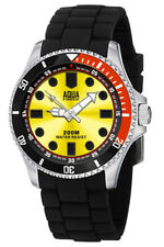 Aqua Force Dive Watch w/ Gold Face (200m Water Resistant)
