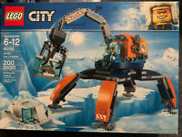 LEGO 60192 City Arctic Ice Crawler 200 Pcs Building Toy Collect Every City Set