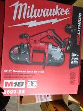 Milwaukee 2629-22 M18™ 18V Cordless Bandsaw Kit W/ 2 Batteries & Charger NEW