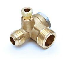 Rückschlagventil Ventil Kompressorventil Kompressor Druckluft 1/2AG 3/8AG Typ6