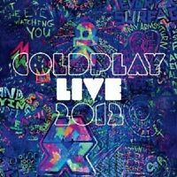 COLDPLAY - LIVE 2012  CD + DVD POP INTERNATIONAL NEU