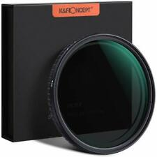 K&F Concept Slim 67mm Fader Variable Neutral Density Filter ND2-ND32 NO X Spot