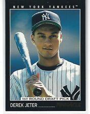 1993 Pinnacle #457 Derek Jeter RC 1st Round Draft Pick Rookie