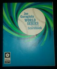 Joe Garagiola World Series Book Chrysler