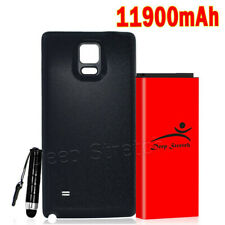 Deep Stretch 11900mAh Extended Battery Cover for Samsung Galaxy Note 4 SM-N910