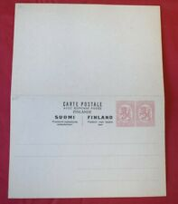 MayfairStamps Finland 2 10 Mint Postal Stationery Reply Card WWE95905
